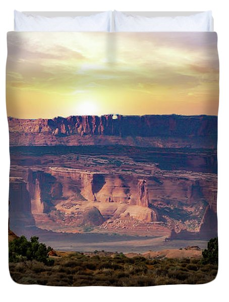 Arches National Park Canyon Duvet Cover