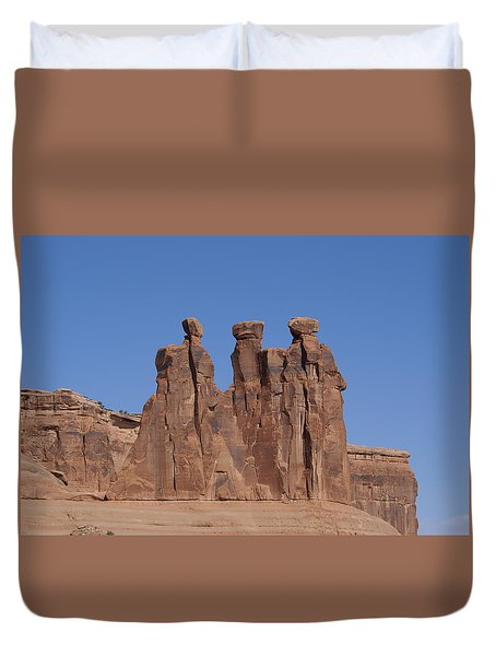Arches National Park Duvet Cover by Cynthia Powell
