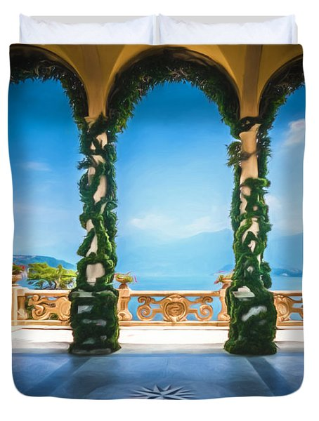 Arches Of Italy Duvet Cover