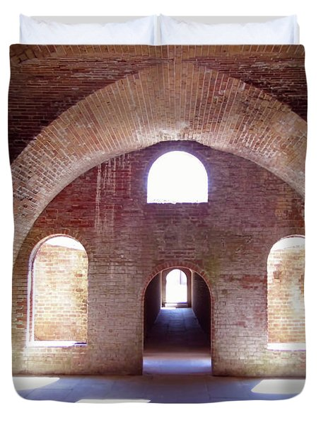 Arches Of Sunshine Duvet Cover