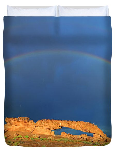 Arches Over The Arch Duvet Cover