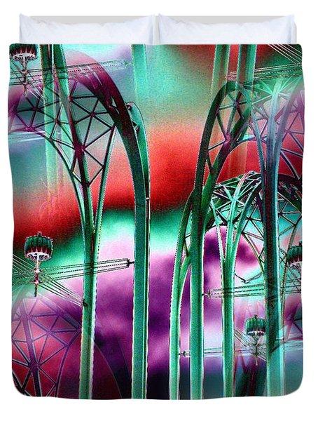 Arches Duvet Cover by Tim Allen