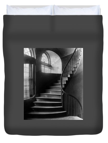 Arching Stairwell Duvet Cover