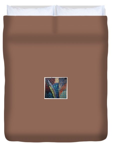 Architectuaral Bent,   Duvet Cover by Darrell Black
