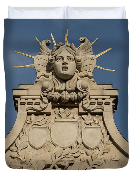 Architectural Details Duvet Cover