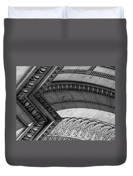 Architectural Details Of The Arc Duvet Cover