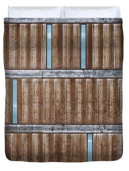 Architectural Dna Duvet Cover