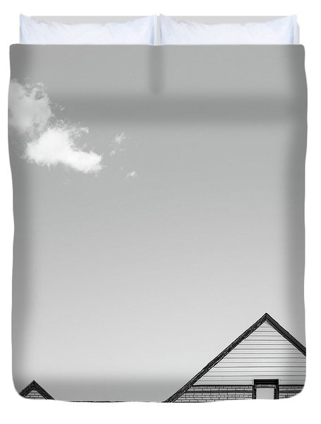 Architectural Ekg Duvet Cover