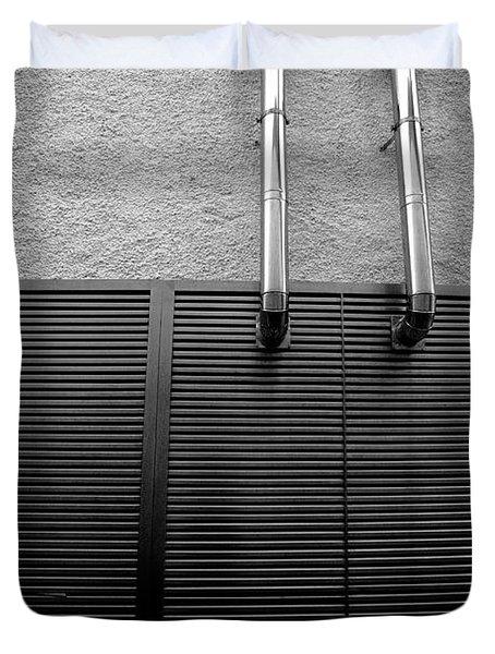 Architectural Elements Duvet Cover by Gaspar Avila
