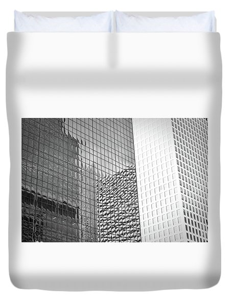 Architectural Pattern Study 4.0 Duvet Cover