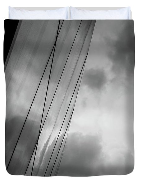 Architecture And Immorality Duvet Cover