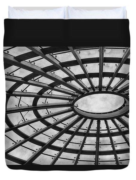 Architecture Bw 8x12 Duvet Cover