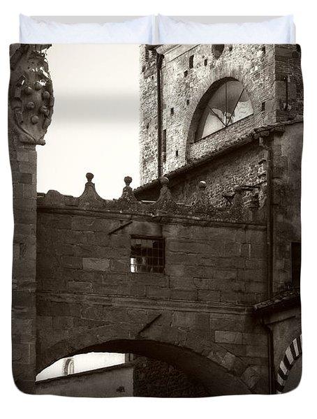Architecture Of Pistoia Duvet Cover