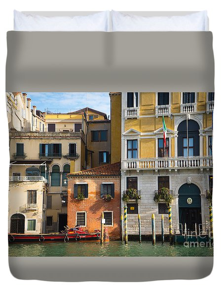 Architecture Of Venice - Italy Duvet Cover