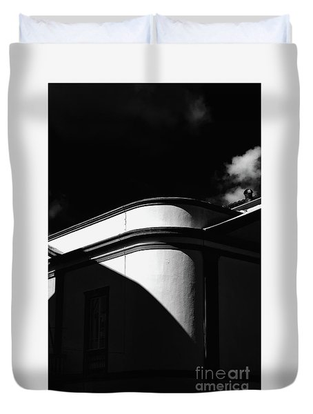 Architecture Shadow Light Game Duvet Cover
