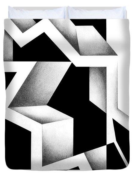 Archtectonic 5 Duvet Cover