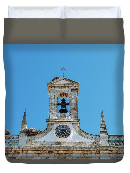 Arco De Vila, Faro, Algarve, Portugal Duvet Cover