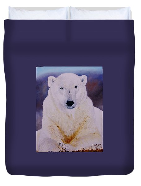 Arcqtic Majesty Duvet Cover by Jean Yves Crispo