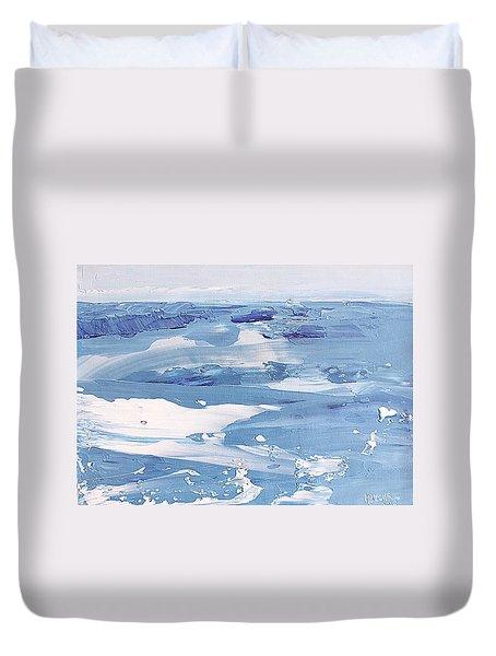 Arctic Ocean Duvet Cover