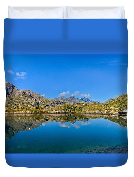 Arctic Reflections Duvet Cover