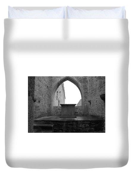 Ardfert Cathedral Duvet Cover