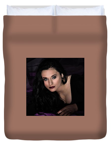 Are You Going To Keep Me Waiting? Duvet Cover