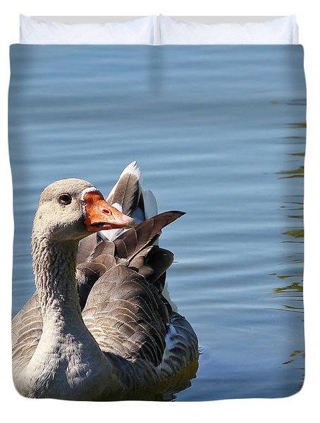 Are You Talking To Me Duvet Cover