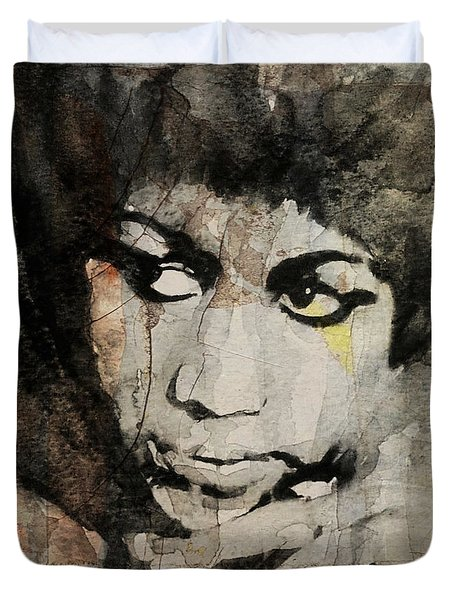 Aretha Franklin - Don't Play That Song For Me  Duvet Cover