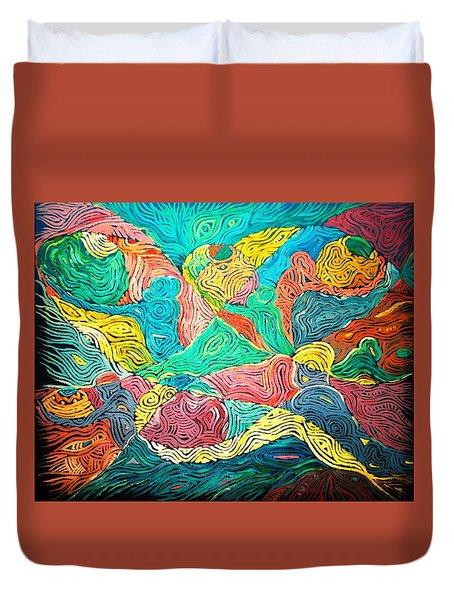 Argungun Fishing Festival Duvet Cover