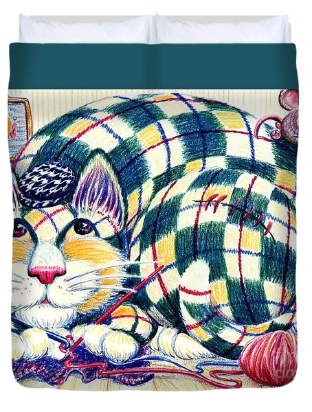 Argyle Duvet Cover by Dee Davis