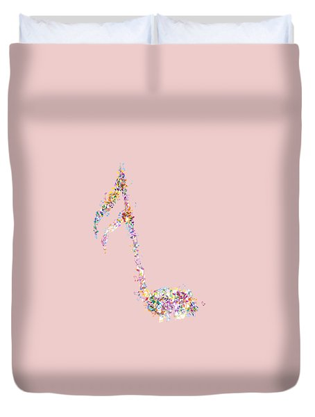 Aria T-shirt Duvet Cover by Herb Strobino