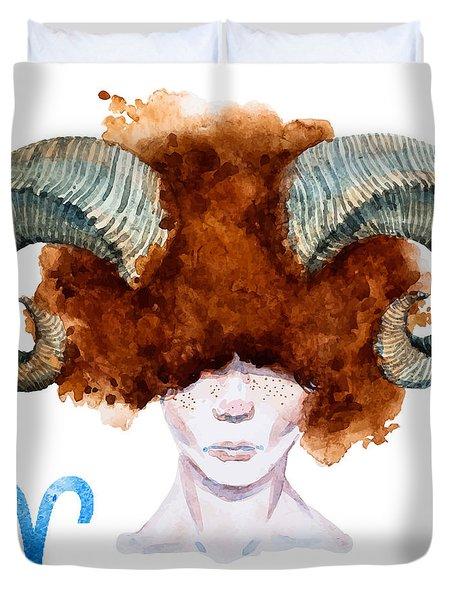 Aries Duvet Cover