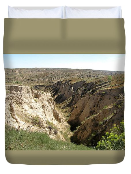 Arikaree Breaks Canyon Duvet Cover