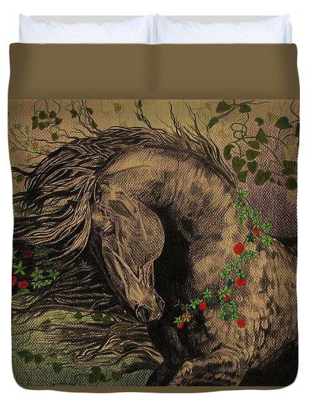 Aristocratic Horse Duvet Cover