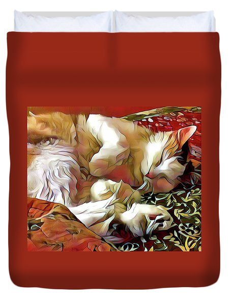 Aristokitty Duvet Cover
