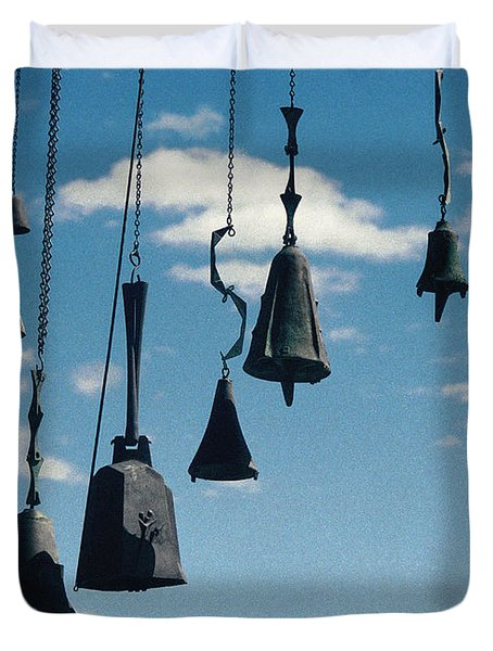 Duvet Cover featuring the photograph Arizona Bells by Kenneth Campbell