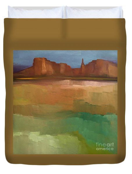 Arizona Calm Duvet Cover