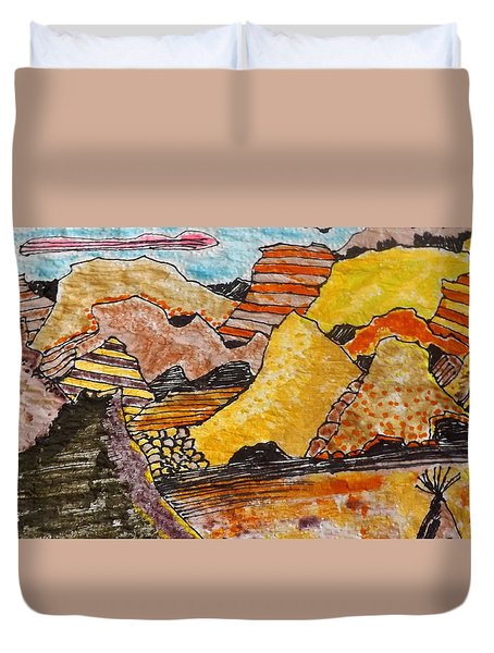 Arizona Canyons Duvet Cover by Don Koester