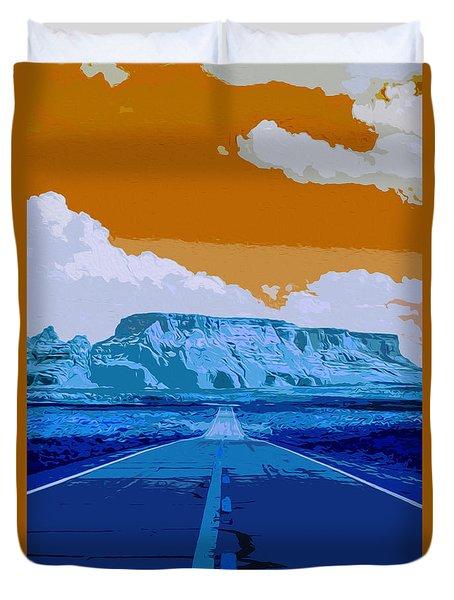 Arizona Dream Duvet Cover by Andrea Mazzocchetti