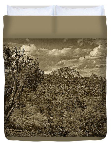 Arizona Landscape Tint Duvet Cover