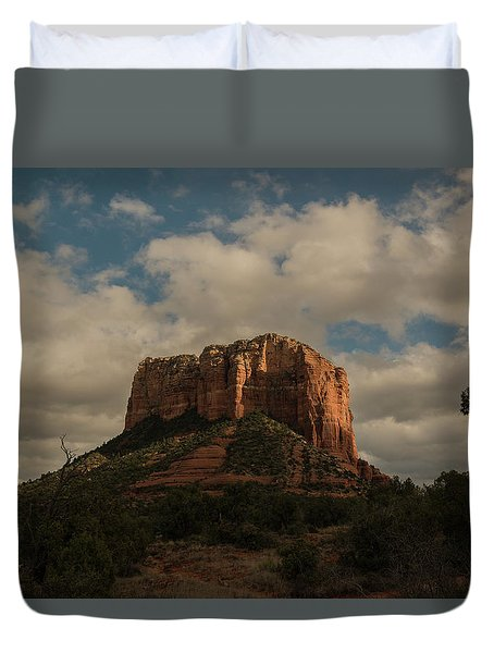 Arizona Red Rocks Sedona 0222 Duvet Cover