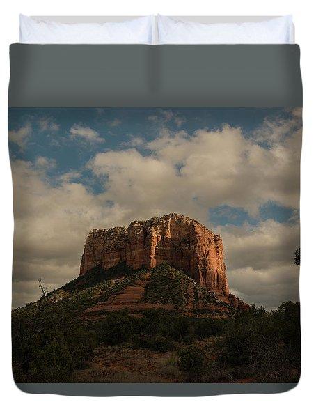 Arizona Red Rocks Sedona 0222 Duvet Cover by David Haskett