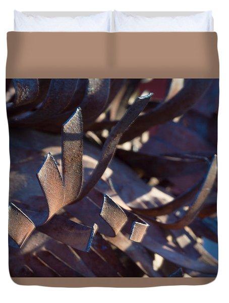 Arizona Rust I Duvet Cover by Carolina Liechtenstein