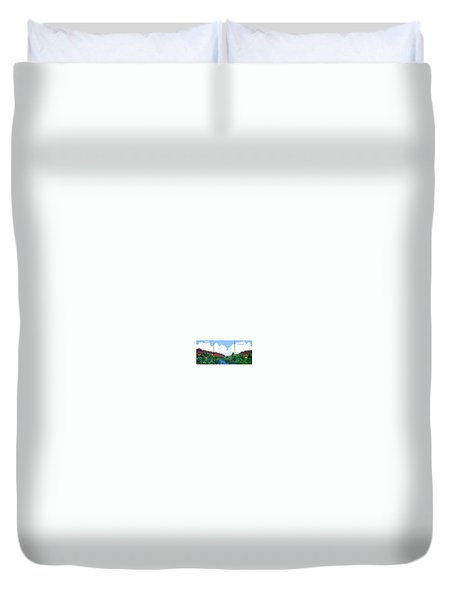 Arizona Sky Duvet Cover by Bernard Goodman