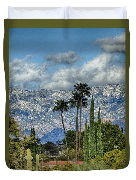 Arizona Snow Duvet Cover