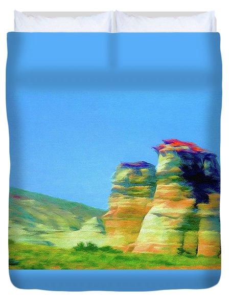 Arizona Spring Duvet Cover by Jeff Kolker