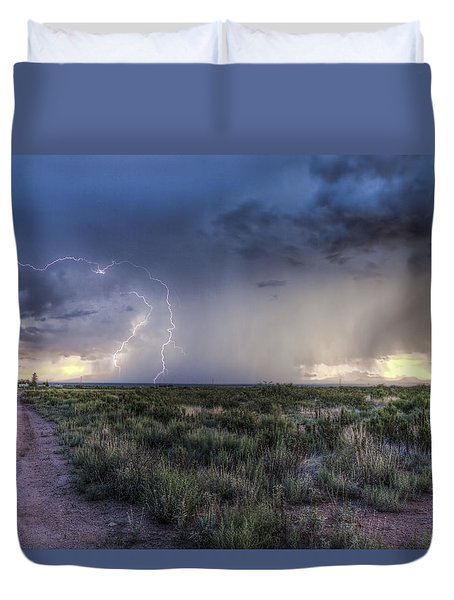 Arizona Storm Duvet Cover