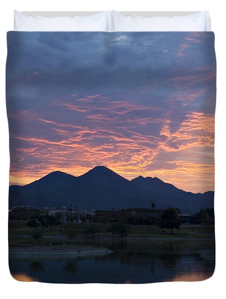Arizona Sunset 2 Duvet Cover