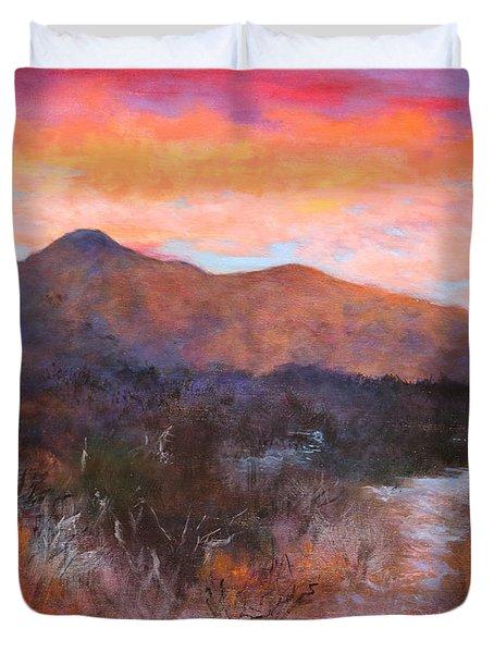 Arizona Sunset 3 Duvet Cover