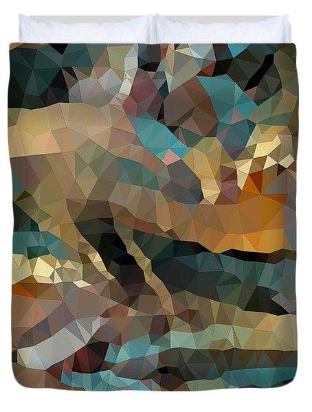 Arizona Triangles Duvet Cover